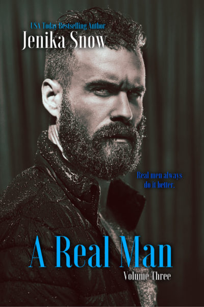 A Real Man: Volume Three-FRONT COVER